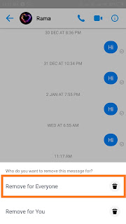 How to Unsend Messages On Facebook
