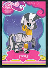 My Little Pony Zecora Series 1 Trading Card