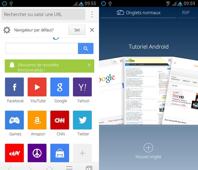 Navigateur CM pour Android