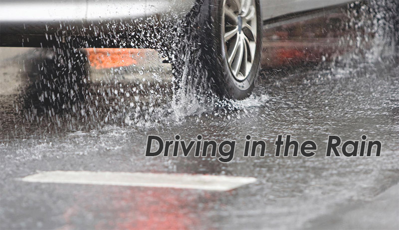 Los Al PD News: Be the Best Driver on a Rainy Day
