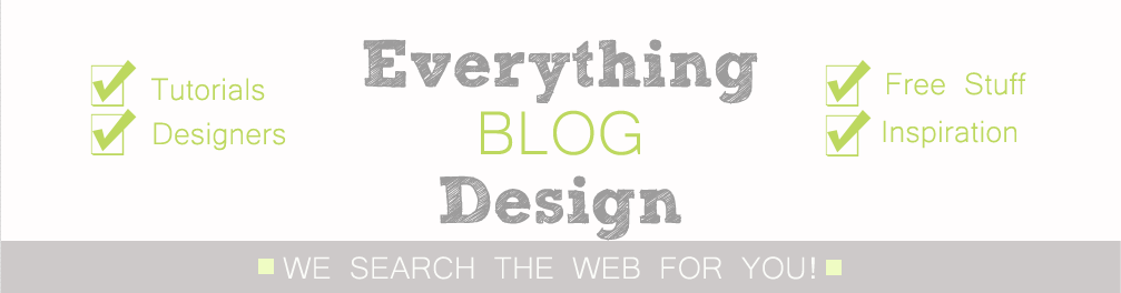 Everything Blog Design