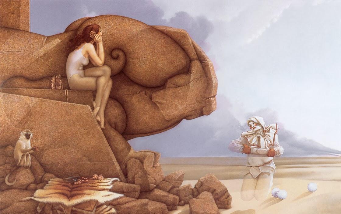 Rock Girl Wallpaper Solitary Dog Sculptor I Cartoon Historieta Michael
