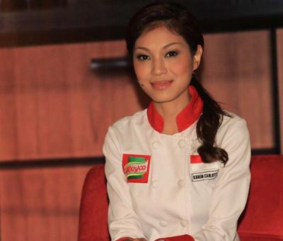 Karen Carlotta Chef Tercantik dan Seksi di indonesia