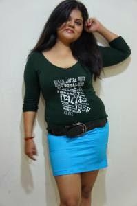 neha's mini Skirt Photoshoot