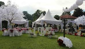 Dekorasi Pernikahan Sederhana Outdoor