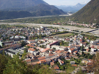 Tolmezzo in Friuli Venezia Giulia was said to have been close to the epicentre of the 1348 earthquake