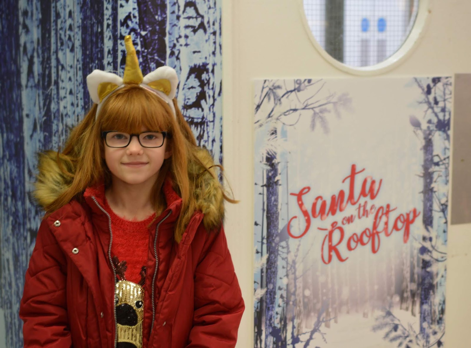 Santa on the Rooftop at Fenwick Newcastle | A Review - life doors and entrance