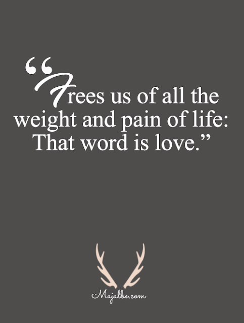 One Word Love Quotes