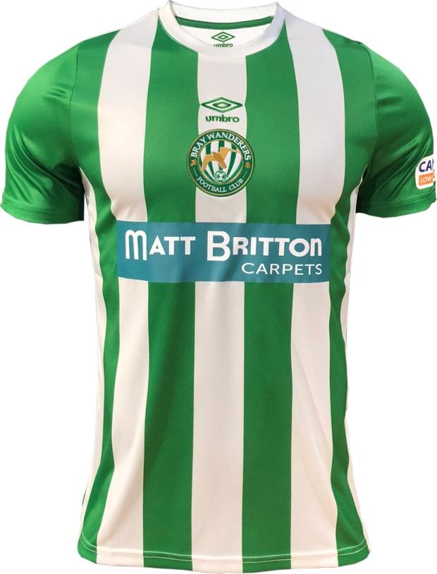 Umbro lança as novas camisas do Bray Wanderers. A Umbro divulgou os novos  uniformes ... 314f0fb506a58