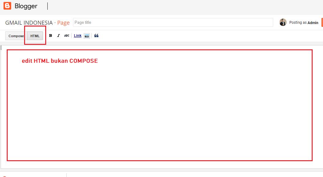 Cara Membuat Kotak Script Blog Untuk Menampilkan Kode HTML ...
