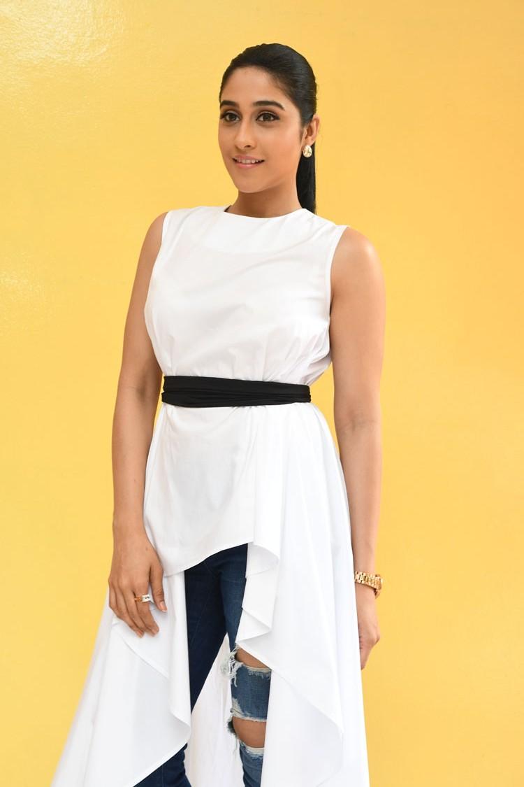 Regina White Dress Photos