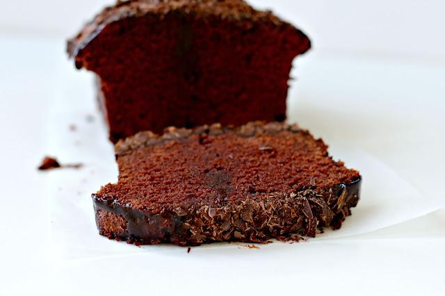 Chocolate Shards And Loaf Cake