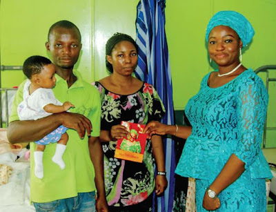 Beautiful Lady Detained With Baby In LUTH Over Money Gets Help