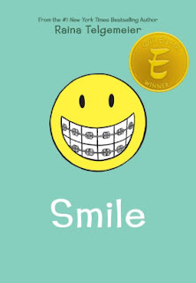 "Tween Book Group Reads ""Smile"" for October 12, 2017"