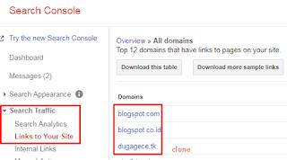 Cara Mengetahui Web Kena Clone dan Copy