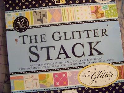 Glitter Paper Pack