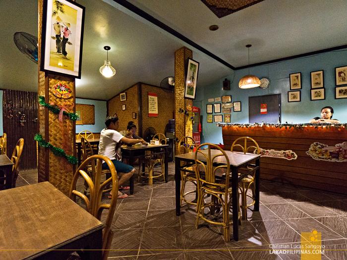 Rene's Saigon Restaurant Palawan Interior