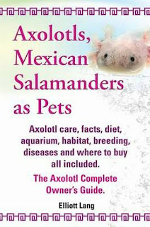 Axolotls, Mexican Salamanders as Pets - front cover