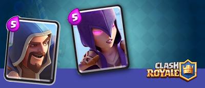 Cara Mudah Mendapat Kartu Witch dan Kartu Wizard pada Game Clash Royale
