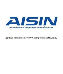 Lowongan Kerja PT AISIN Indonesia