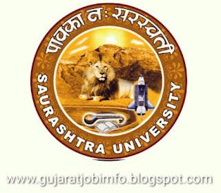 Saurashtra University Recruitment for Assistant Professor (Management)