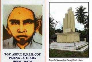 Tugu Cot Plieng, Saksi Sejarah Melawan Jepang Dan Semboyan Ulama Aceh Utara