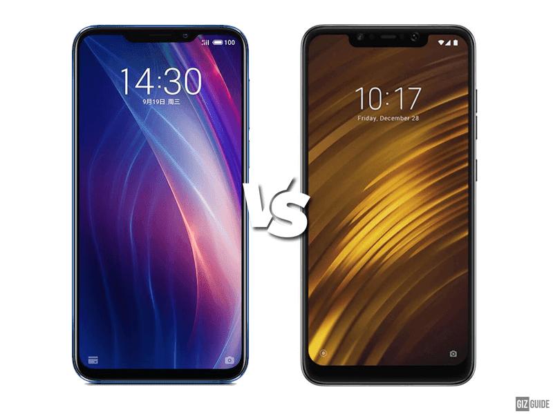 Meizu X8 vs POCOPHONE F1 Specs Comparison