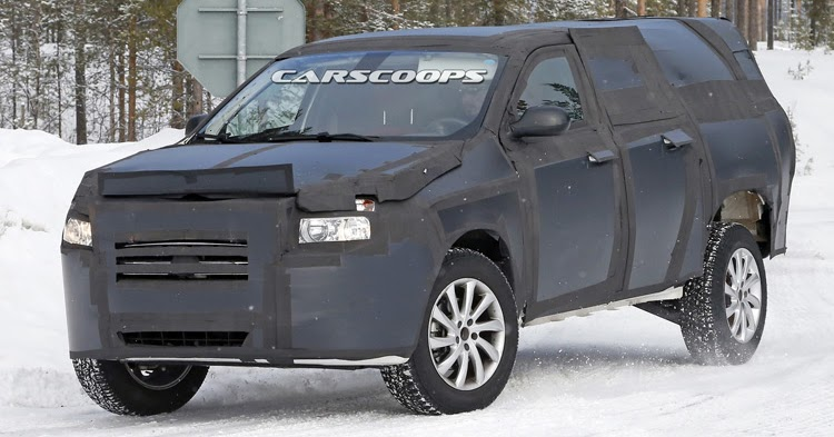 fiat 39 s 2016 mid size pickup truck spied will rival toyota hilux and ford ranger. Black Bedroom Furniture Sets. Home Design Ideas