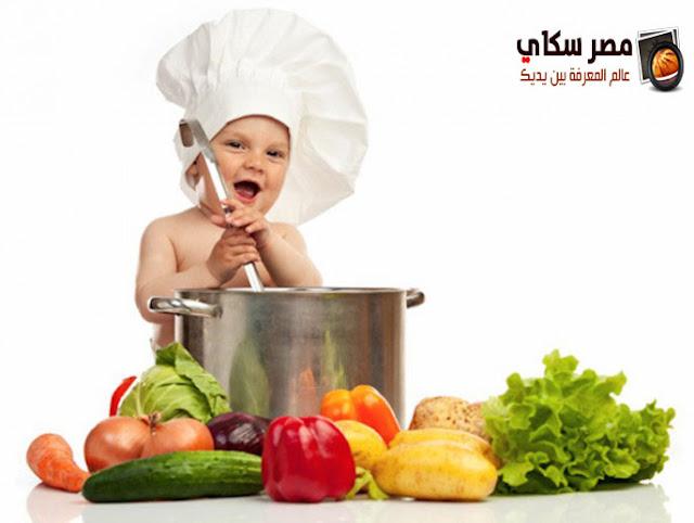 فوائد تنوع الخضر والفاكهة للأطفال فى العام الأول fruits and vegetables