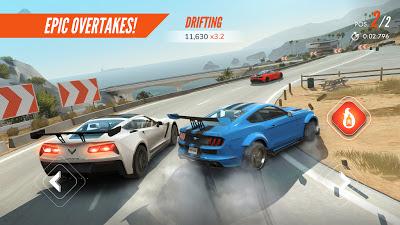 تحميل لعبة السباق الجديدة Rebel Racing نسخة مهكرة كاملة للاجهزة الاندرويد
