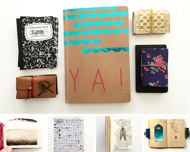 sketchbook conversations, Leigh Anna Newell, Sketchbooks