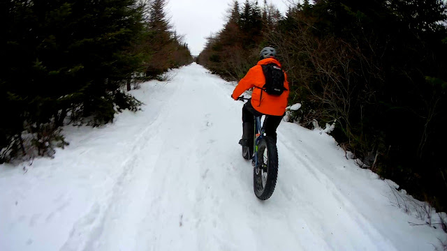 Riding Picture Scenery Fat Bike