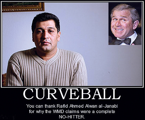 Image result for IRAQI SPY CURVEBALL