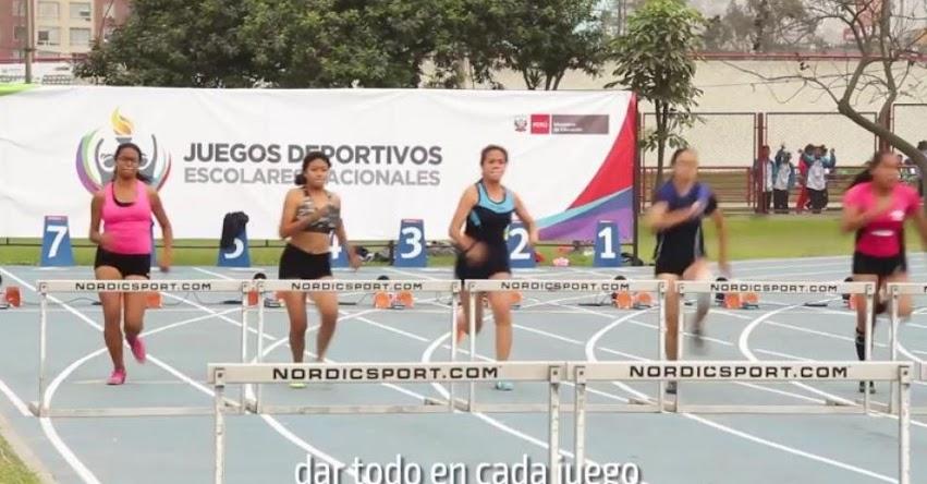 Juegos Deportivos Escolares Nacionales 2017 - Conquista tus sueños [VIDEO] MINEDU - www.minedu.gob.pe