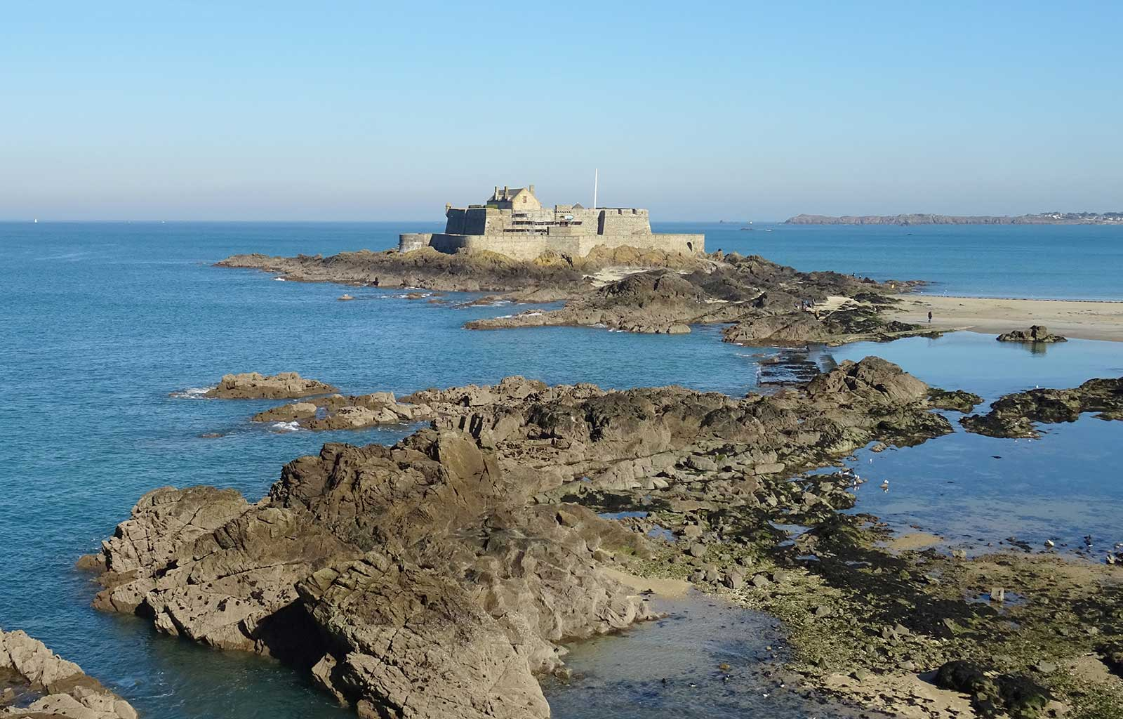 City Guide Saint Malo fort national