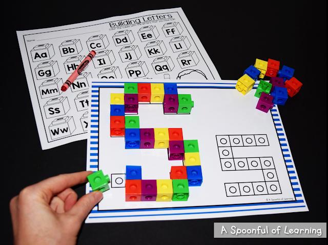 Alphabet Center Activities 1