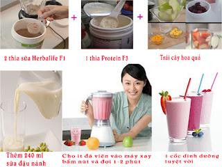 Sử dụng sữa Herbalife tăng cân an toàn và hiệu quả cho người gầy