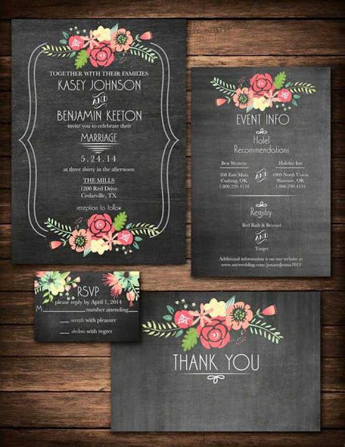 invitaciones de bodas originales