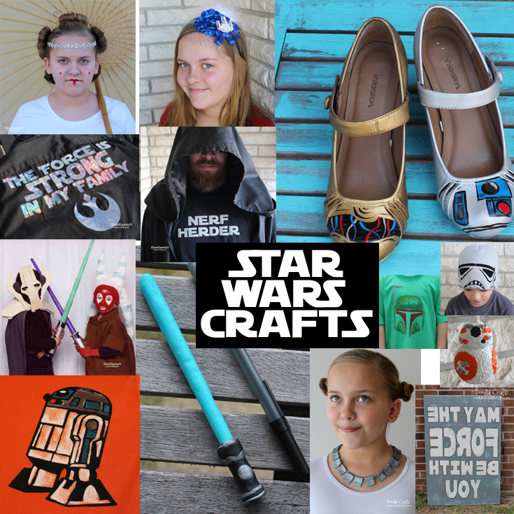 Doodlecraft 25 Star Wars Diy Crafts And Geekery