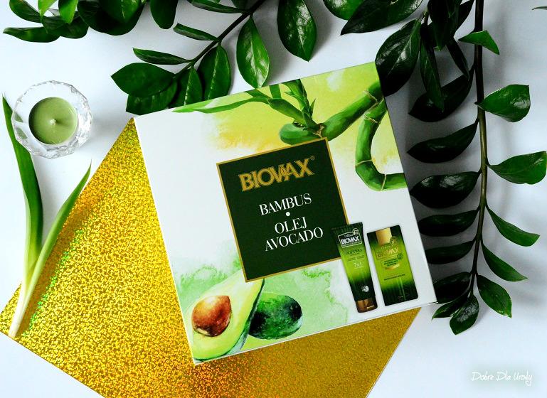 Szampon, odżywka i maska L' biotica Biovax Bambus & Olej Avocado