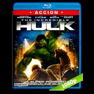 Hulk, el hombre increible (2008) Full HD 1080p Audio Dual Latino-Ingles