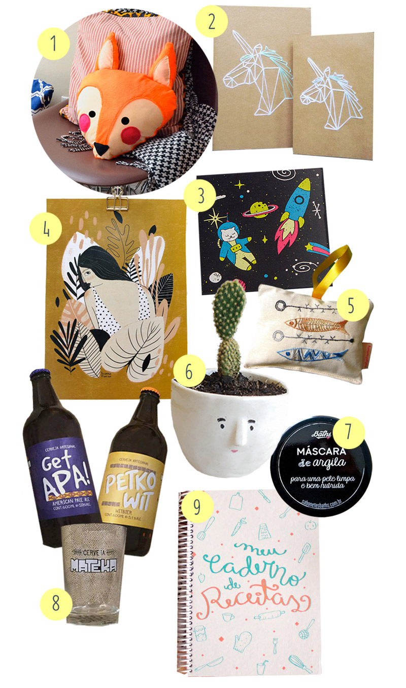 9 presentes de pequenos produtores para dar nesse Natal (e custando até R$50!) | dcoracao.com