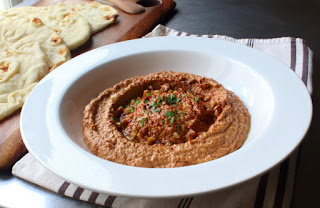 Muhammara (Roasted Pepper & Walnut Spread)