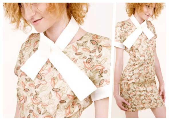 transformar un vestido con 32 formas de lazos en el cuello