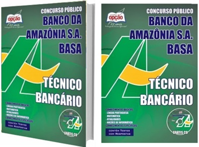 Apostila Concurso BASA 2018 - Banco da Amazônia