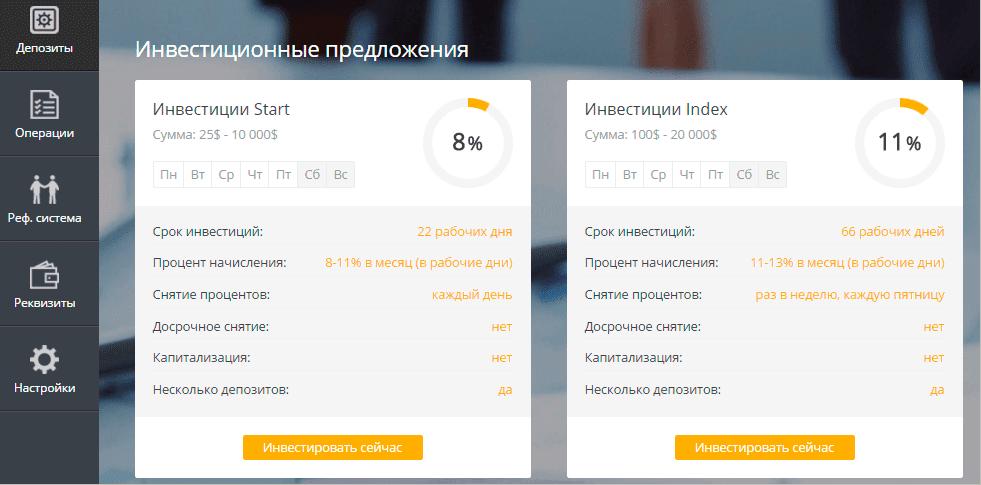 Регистрация в Uni-Trade 4