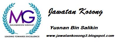 Jawatan Kosong Yusnan Bin Salikin