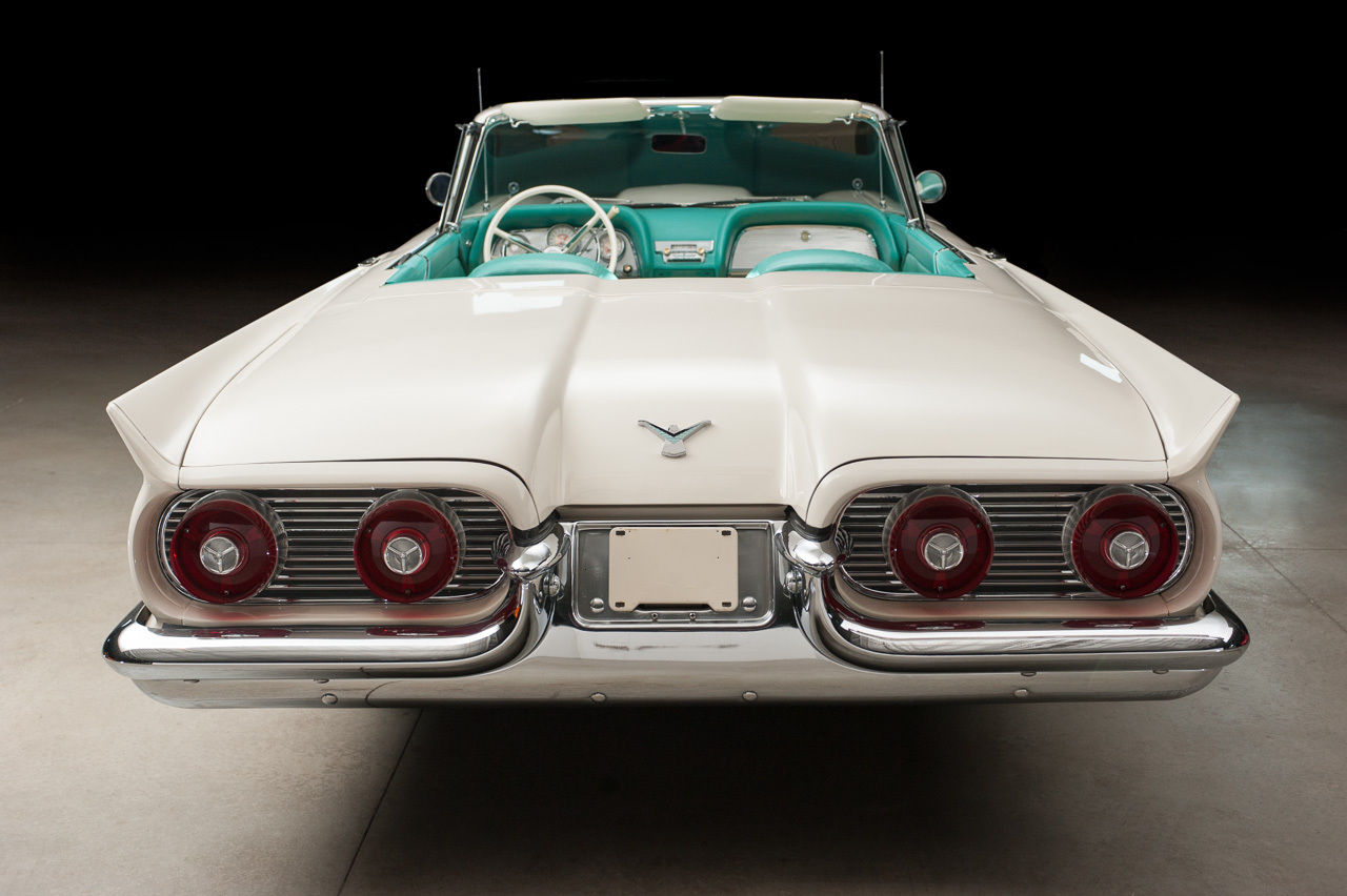 all american classic cars 1959 ford thunderbird 2 door. Black Bedroom Furniture Sets. Home Design Ideas