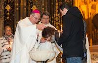 Baptême Samira Cathédrale de Sens Veillée Pascale 2016