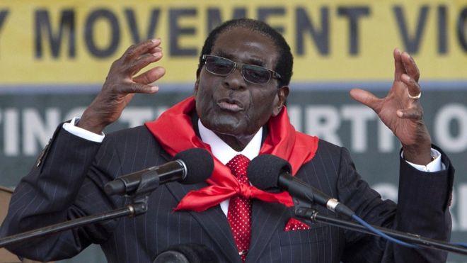 Robert Mugabe: Give Donald Trump a chance